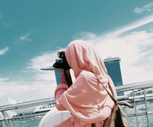 hijab, müslimah, and exploresingapore image