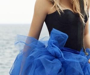 dress, fashion, and feminine image