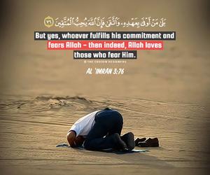 allah, muslim, and holy quran image