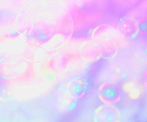 bubbles, pink, and purple image