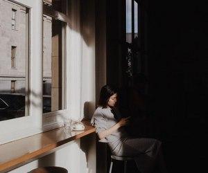black, cafe, and dark image