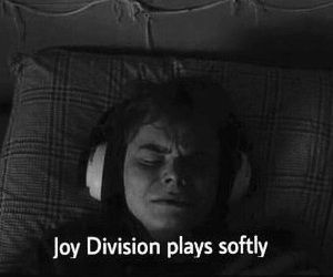 music, unknown pleasures, and ่joy division image