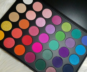 eyeshadows, suicide squad, and morphe palette image