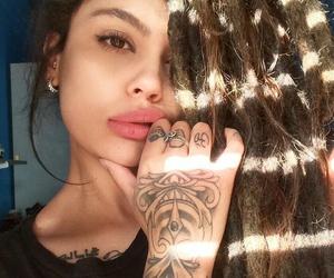 brunette, dreadlocks, and dreads image