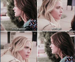 aria, hanna, and wanted dead or alive image