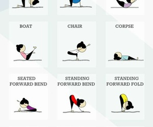 yoga, fitness, and poses image