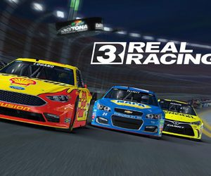 oceansofapks and real racing 3 modded apk image