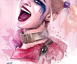 drawing, harley quinn, and suicide squad image
