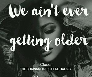 closer, Lyrics, and music image