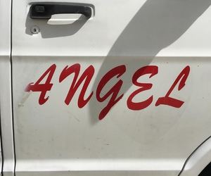 angel, minimalistic, and ángel image