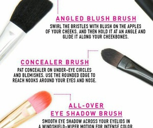 makeup, makeup brushes, and how to use makeup brushes image