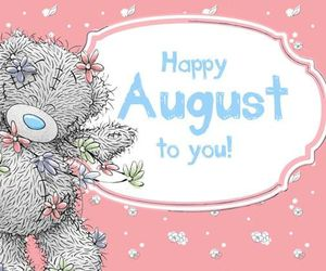 August, summer, and teddy image