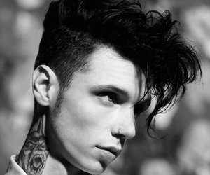 bvb, andy biersack, and andy black image