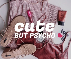 pink, Psycho, and quote image