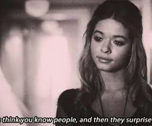 pretty little liars, quotes, and pll image