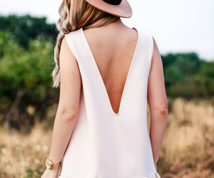 backless, look, and pale pink image