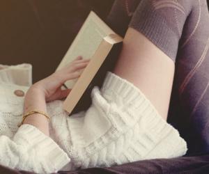 book, books, and garota image