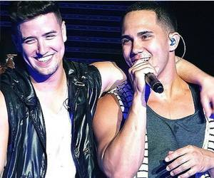big time rush, logan henderson, and carlos pena image
