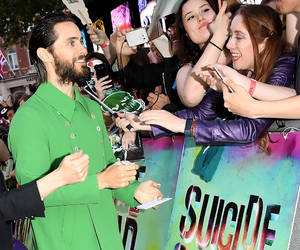 30 seconds to mars, jared leto, and suicide squad image