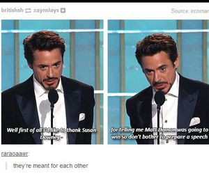 funny, lol, and robert downey jr image