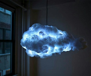 clouds, light, and blue image