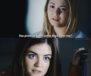 pretty little liars, alison, and aria image