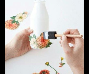 bottle, crafts, and cute image