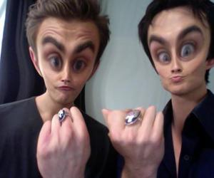 ian somerhalder, paul wesley, and the vampire diaries image