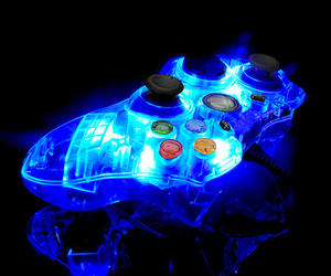 game, xbox, and blue image