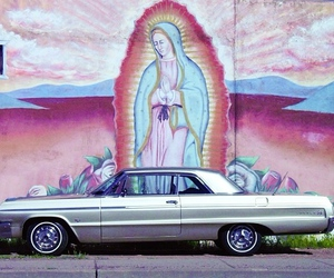 car, art, and chicano image
