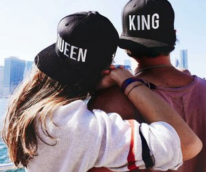 love, king, and Queen image