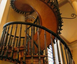 beautiful, endless, and spiral staircase image