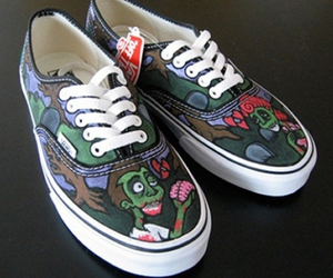 cool, vans, and green image