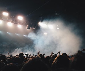 concert, music, and grunge image