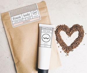 coffee, body scrub, and coffee scrub image