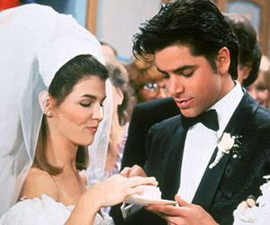full house, 90s, and bride image