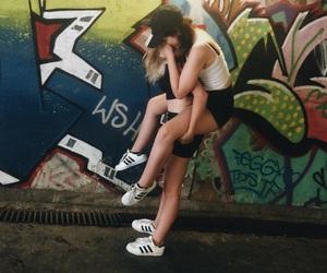 adidas, brunette, and girl image