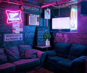 neon and room image