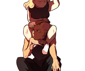 lars, sadie, and steven universe image