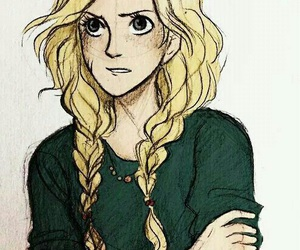 annabeth chase, percy jackson, and annabeth image