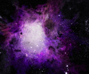 purple, space, and galaxy image