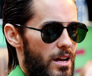 30 seconds to mars, jared leto, and sunglasses image