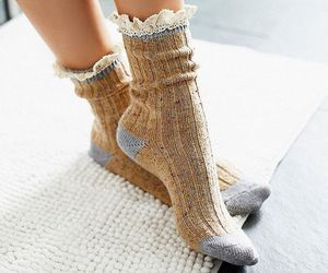 cosy, fashion, and socks image