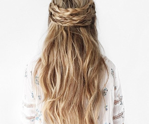 hairstyle and long hair image