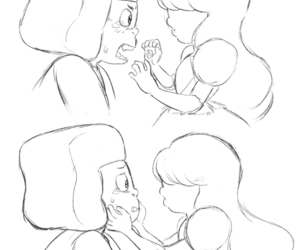 love and steven universe image