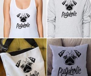 dogs, fashion, and pug image