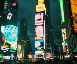 ny, love, and timesquare image