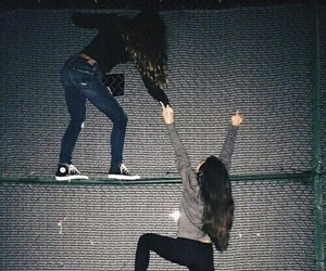 friends, grunge, and friendship image