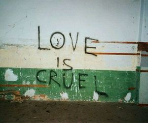 love, cruel, and grunge image