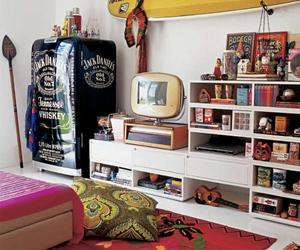 room, jack daniels, and surf image